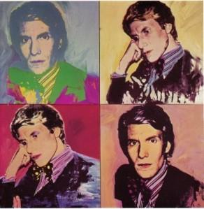 Andy Warhol: Yves Saint-Laurent