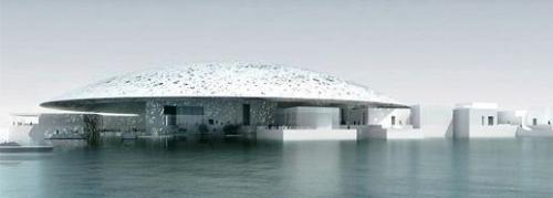 Jean Nouvels Louvre i Abu Dhabi