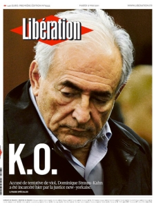 KNOCK-OUT: Dominique Strauss-Kahn er drept av media mener mange.