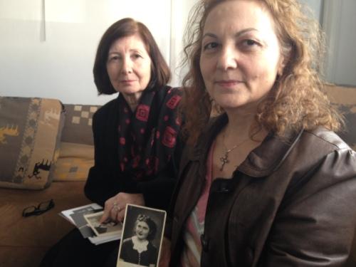 ARMENSK HELTININNE: De to etterkommere av den danske misjonæren Maria Jacobsen bor i en armensk forstad til Paris. Bestmoren reddet tusenvis av barn bort fra folkemordet i Armenia i 1915. Foto: Erik Aasheim